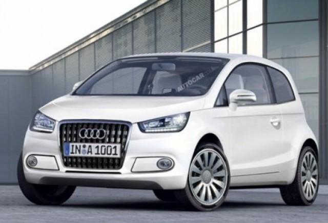 Audi pregateste noul A2 pentru anul 2012