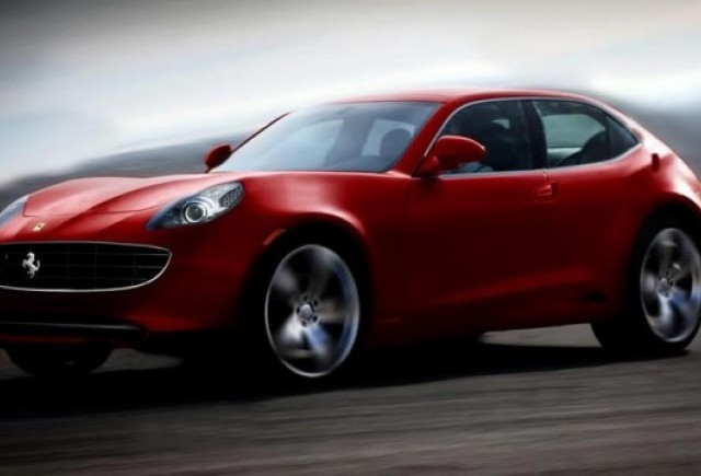 Ferrari nu va construi niciodata un model cu 4 usi