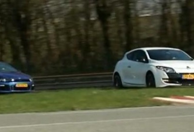VIDEO: VW Scirocco R vs Megane RS