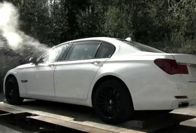 VIDEO: BMW prezinta noua gama blindata High Security