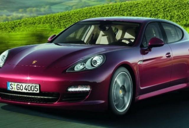 Panamera, cel mai vandut model Porsche in SUA