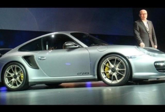 Primele imagini cu noul Porsche 911 GT2 RS