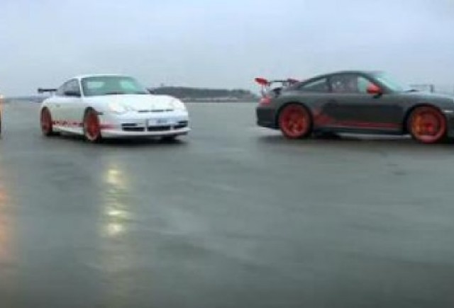 VIDEO: Posesorii de Carrera GT au fost invitati la Silverstone de Porsche