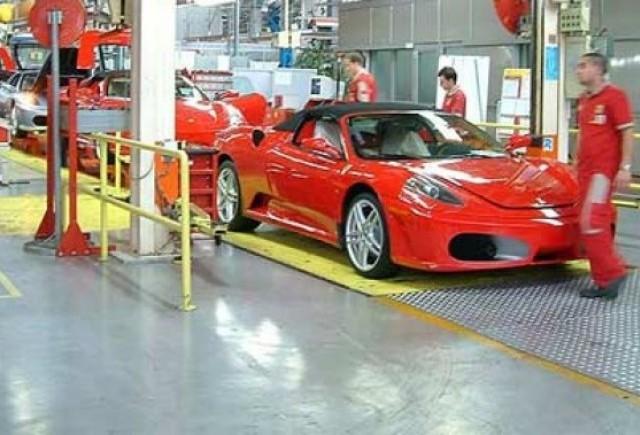 Ferrari opreste productia si disponibilizeaza angajati