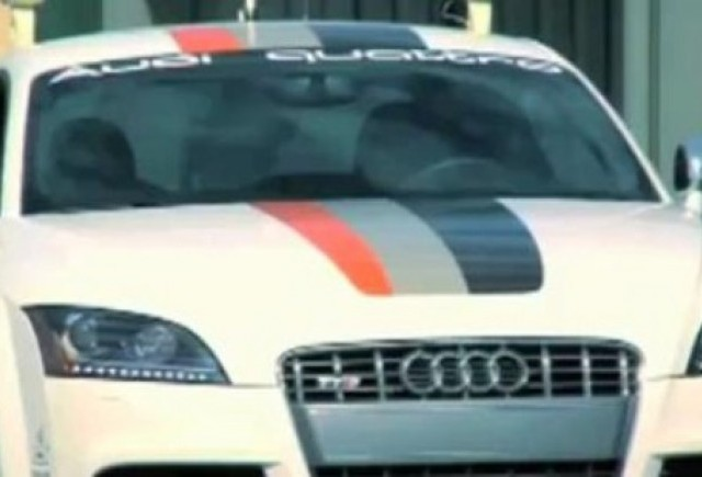 VIDEO: Un Audi TTS care merge singur