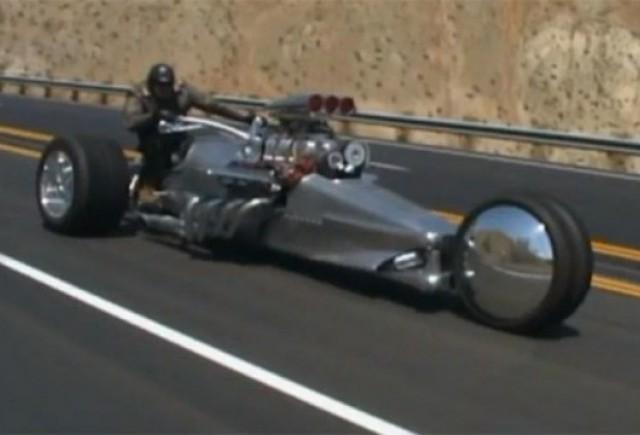 VIDEO: Frogman Rocket II, motocicleta de 1.000 CP, este prezentata intr-un scurt video