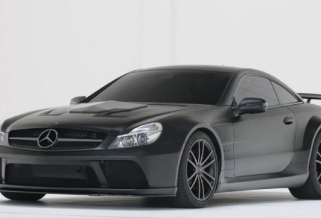 Brabus a tunat modelul Mercedes SL65 AMG Black