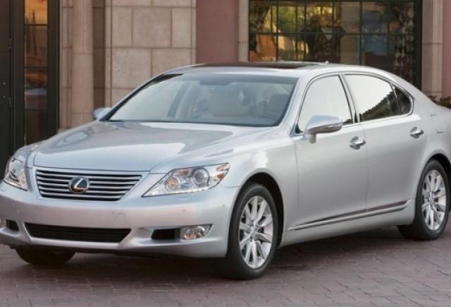 Un recall Toyota: 11.500 Lexus LS au probleme la directie