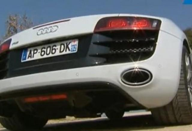VIDEO: Audi R8 Spyder