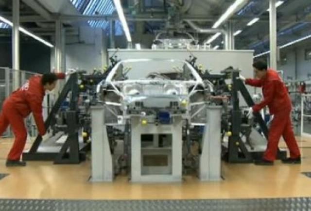 VIDEO: Cum ia nastere un Audi R8 Spyder
