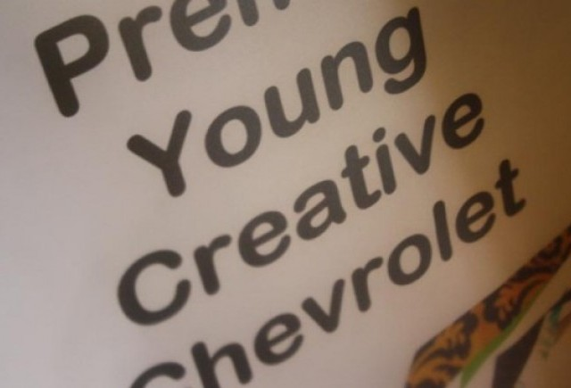 Galerie Foto: Young Creative Chevrolet