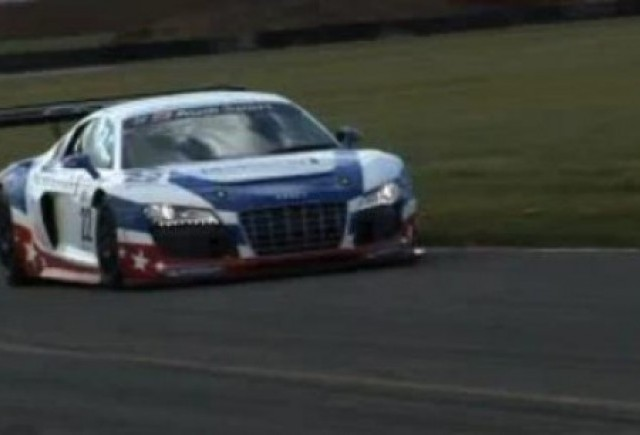 VIDEO: Test cu Audi R8 LMS