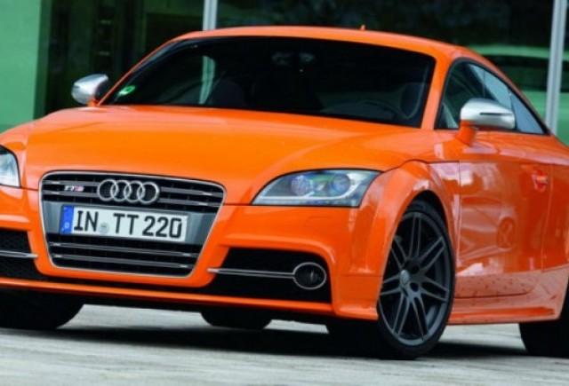 Audi prezinta noi imagini ale modelului Audi TTS