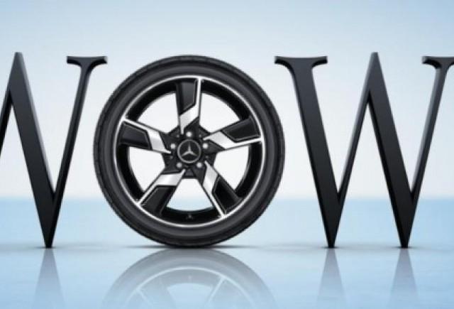 Noua gama de anvelope si roti Mercedes: WOW