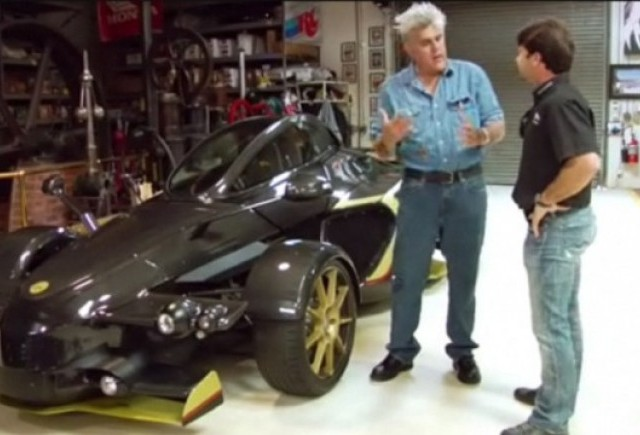 VIDEO: Jay Leno testeaza supercar-ul Tramontana