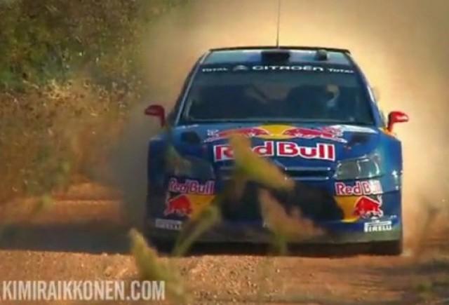 VIDEO: Iata evolutia lui Raikkonen in Raliul Portugaliei!
