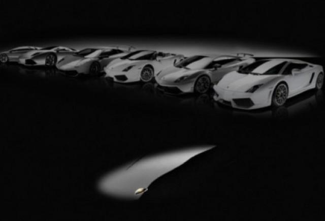 Lamborghini a lansat primul teaser pentru inlocuitorul modelului Murcielago