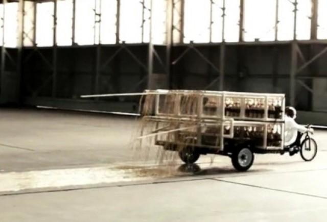 VIDEO: Un sistem de propulsie bazat pe Coca-Cola si Mentos
