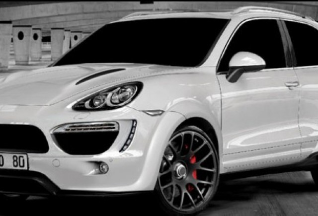 Iata cum arata Porsche Cayenne cu 2 usi!
