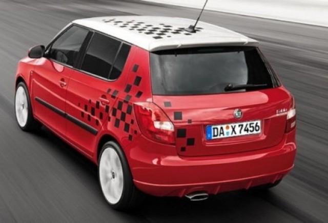 Skoda a lansat un pachet sportiv pentru modelul Fabia facelift