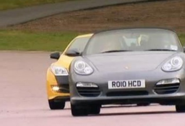 VIDEO: Megane RS vs. Porsche Boxster