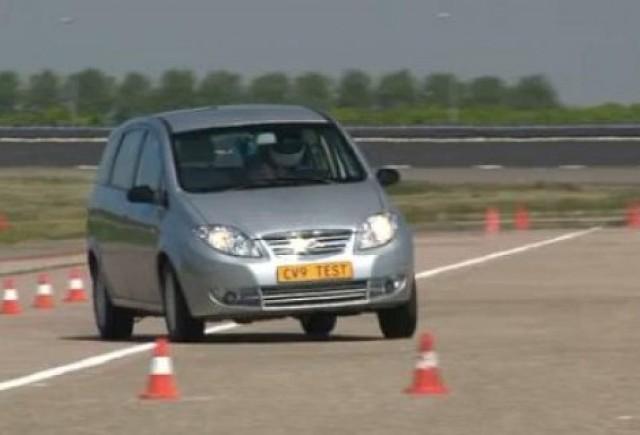 VIDEO: Landwind CV9, monovolum chinezesc cu 0 stele la Euro NCAP