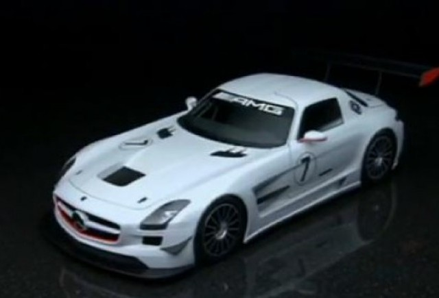 VIDEO: Iata versiunea de competitie Mercedes SLS AMG GT3!