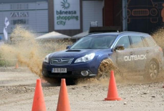 Peste 600 de fani Subaru au testat modelele japoneze la Bucuresti