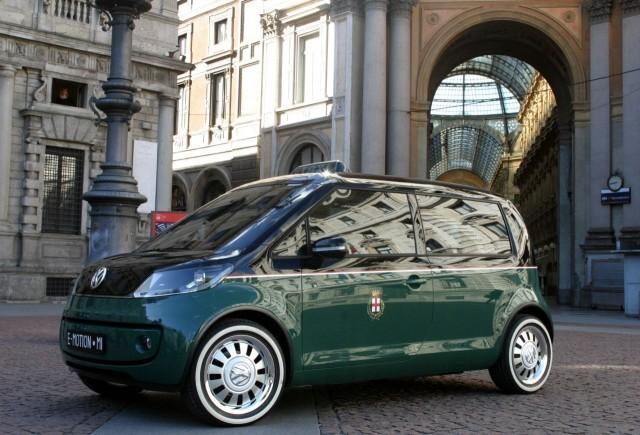 Noi imagini cu VW Milano Taxi