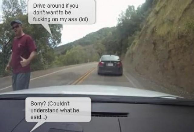 VIDEO: Soferii de BMW nu se simt bine cu un Mazda3 MPS in spate