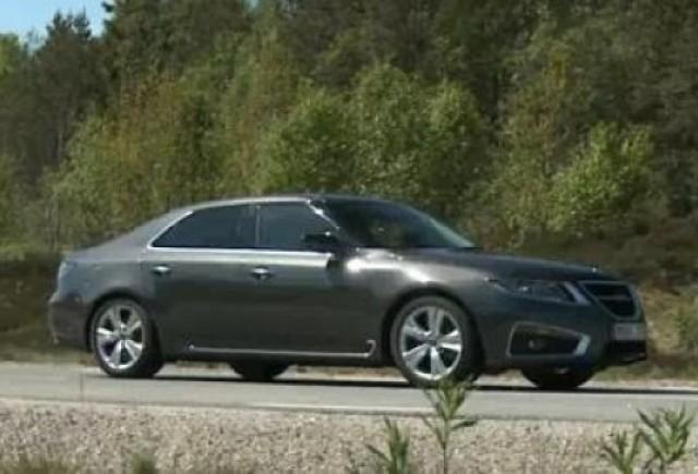 VIDEO: Inginerii Saab au scos noul 9-5 la plimbare