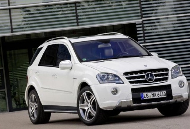 Mercedes ML63 AMG facelift