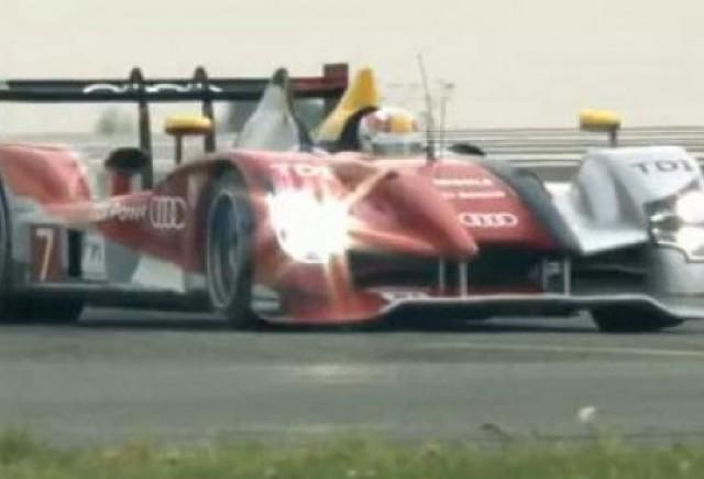 VIDEO: Audi R15 TDI, castigatorul cursei de 24 h de la Le Mans