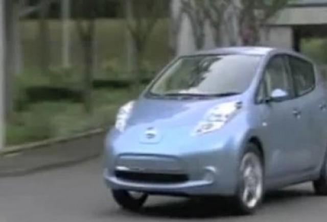 VIDEO:  Avertizare sonora pentru pietoni la Nissan Leaf