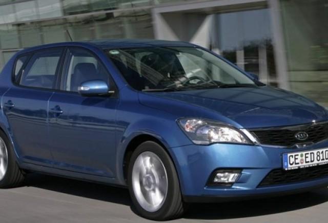 Kia face recall in Romania la modelele Cee'd echipate cu ESP