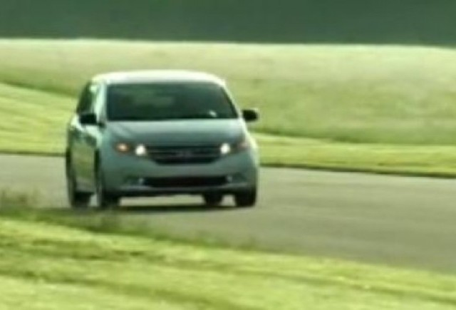 VIDEO: Noul Honda Odyssey se prezinta
