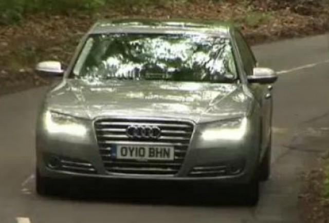 VIDEO: Audi A8, test de 90 de secunde