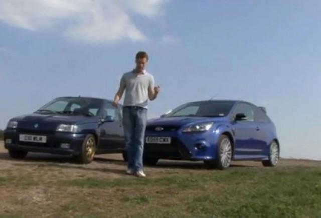 VIDEO: Renault Clio Williams vs Ford Focus RS
