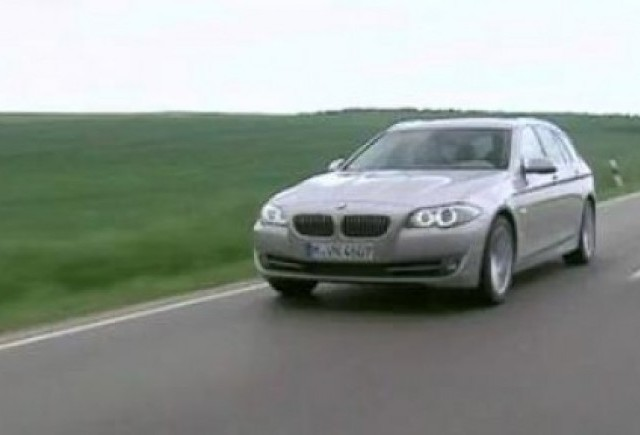 VIDEO: Test cu BMW Seria 5 Touring