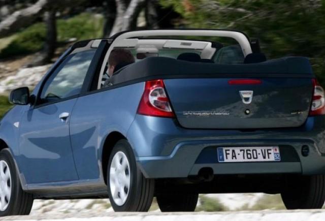 Iata cum ar putea arata Dacia Sandero Cabrio!