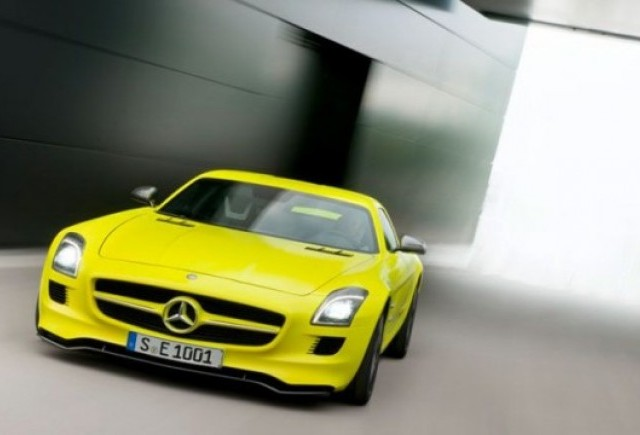Mercedes pregateste un model SLS AMG electric