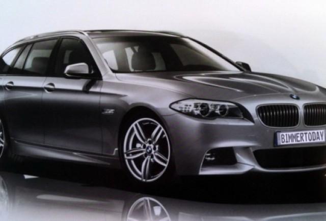 Iata primele imagini ale noului BMW Seria 5 M Sport!