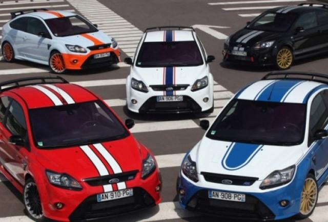 Ford prezinta modelele Focus RS Le Mans