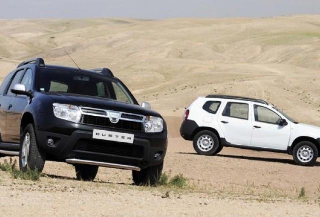 Dacia Duster detine jumatate din piata SUV-urilor din Romania