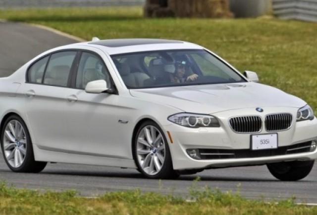 Stocul cu modele BMW Seria 5 a fost epuizat in intreaga lume