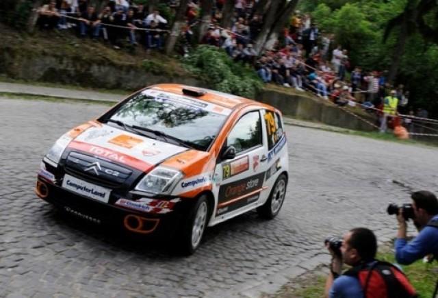 Ultima etapa pe asfalt pentru piloti din Citroen Racing Trophy Romania