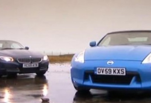 VIDEO: Nissan 370Z Cabrio vs BMW Z4 sDrive 35i