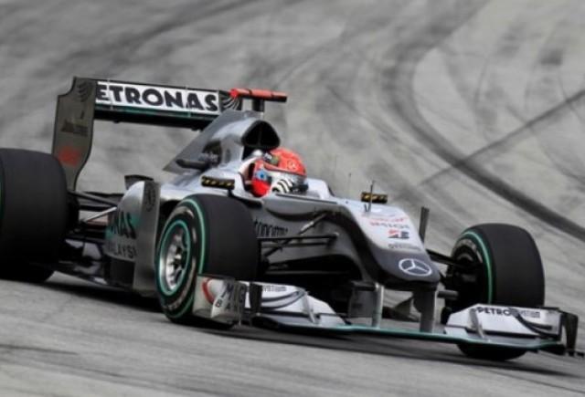 Schumacher nu este afectat de critici