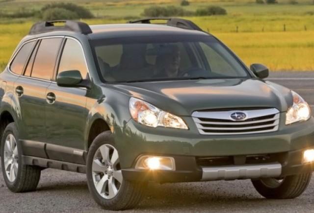 Recall la modelele Subaru Outback si Legacy din 2010