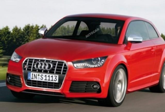 Audi confirma modelul S1